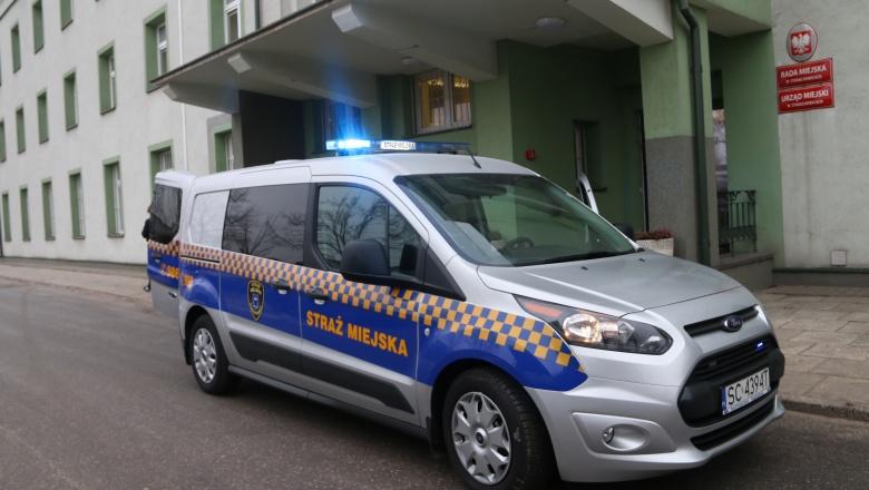 Nowy samochód dla Straży Miejskiej w Starachowicach