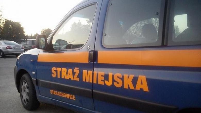 auto straży miejskiej